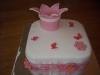taart met kroontje